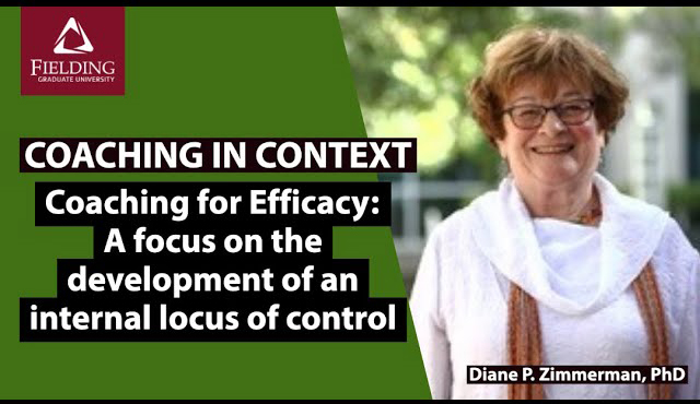 Coaching for Efficacy: A focus on the development of an internal locus of control